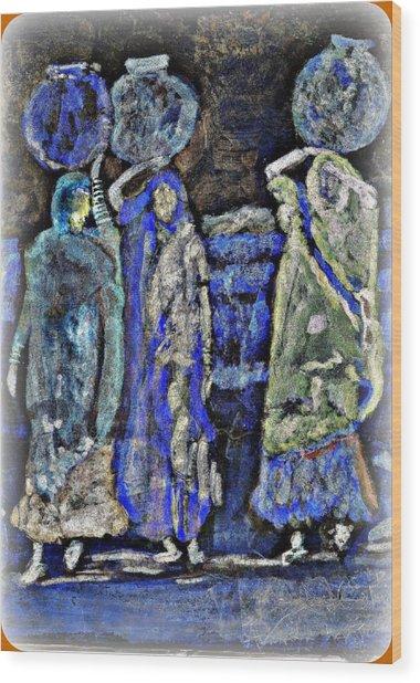 Desert Diva's Wood Print