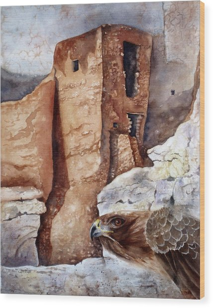 Desert Dwellers Wood Print