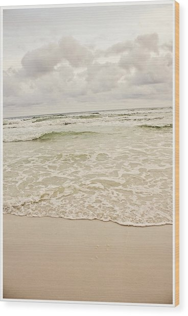 Destin Beach Wood Print by Tiffany Zumbrun
