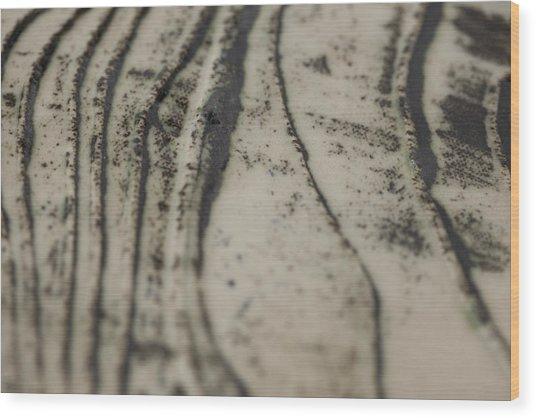 Destruction  Wood Print by Andrew Tuff