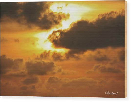 Divine Glory Wood Print