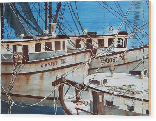 Dockside    Sold Prints Available Wood Print