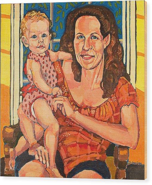 Dory With  Simone Wood Print