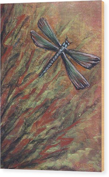 Dragon Wood Print by Lisa Masters