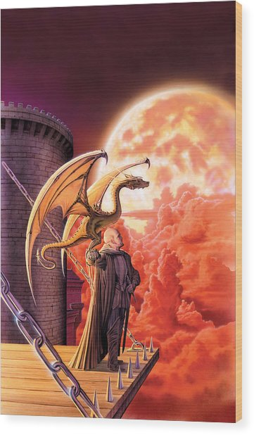 Dragon Lord Wood Print