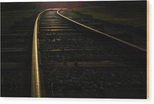 Dream Rails Wood Print