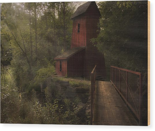 Dreamkeepers Hideaway Wood Print