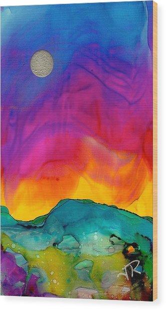 Dreamscape No. 159 Wood Print