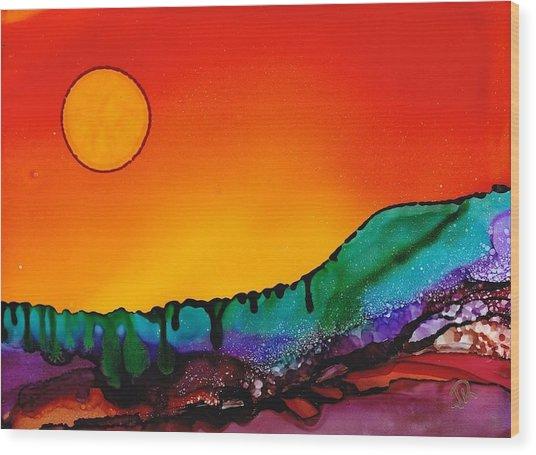 Dreamscape No. 69 Wood Print