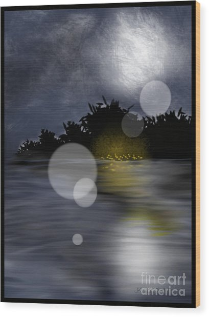 Dreamworld Wood Print