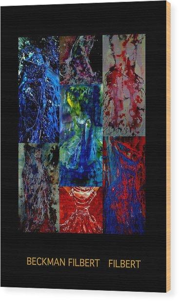 Dress Series Cover Wood Print