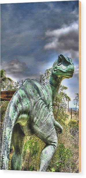 Dromaeosauridae Wood Print