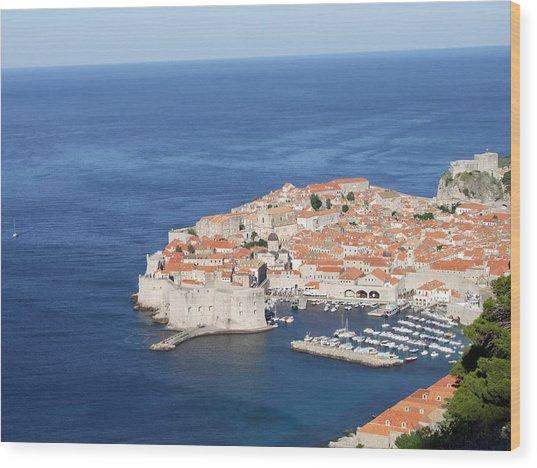 Dubrovnik Former Yugoslavia Croatia Wood Print