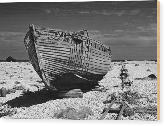 Dungeness Decay Wood Print