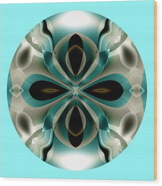 Wood Print featuring the digital art Easter by Visual Artist Frank Bonilla