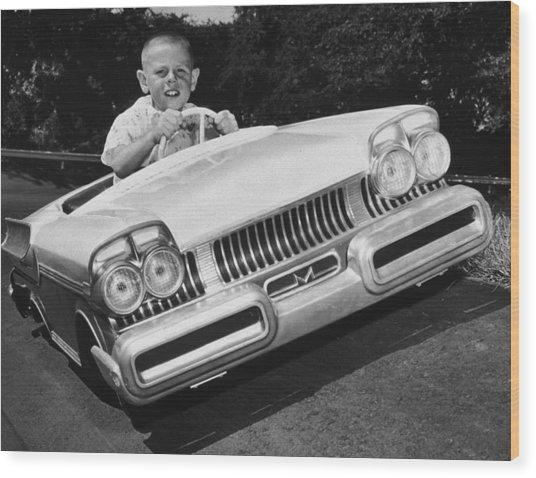 Easy Driver Wood Print by Archive Photos