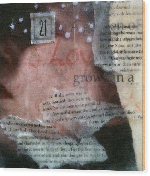 Echos Wood Print