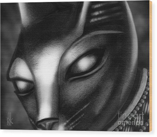 Egyptian Cat Wood Print
