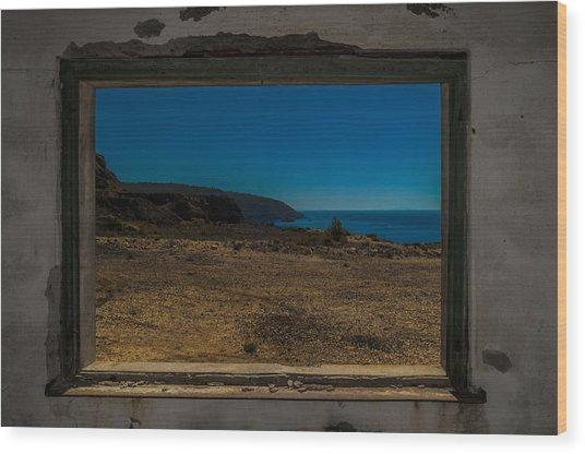 Elba Island - Inside The Frame - Ph Enrico Pelos Wood Print