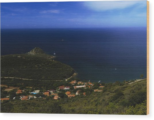 Elba Island - Lovers Beach Dreamscape - Ph Enrico Pelos Wood Print