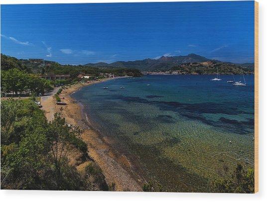 Elba Island - On The Beach 1 - Ph Enrico Pelos Wood Print
