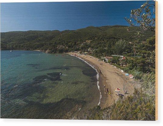 Elba Island - On The Beach 2 - Ph Enrico Pelos Wood Print