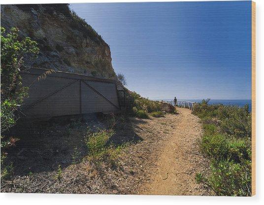 Elba Island - The Ancient Path - Il Vecchio Sentiero - Ph Enrico Pelos Wood Print