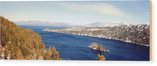 Emerald Bay 2 Wood Print