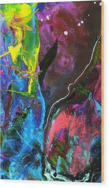 Emmylou Wood Print by Dan Cope