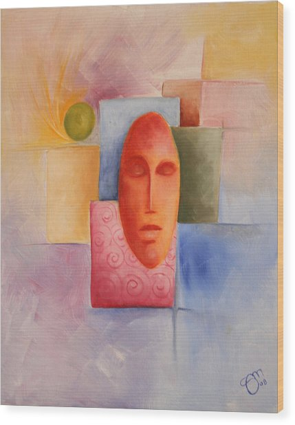 Emotion - 2008 Wood Print by Simona  Mereu
