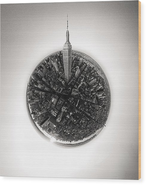 Empire State #2 Wood Print