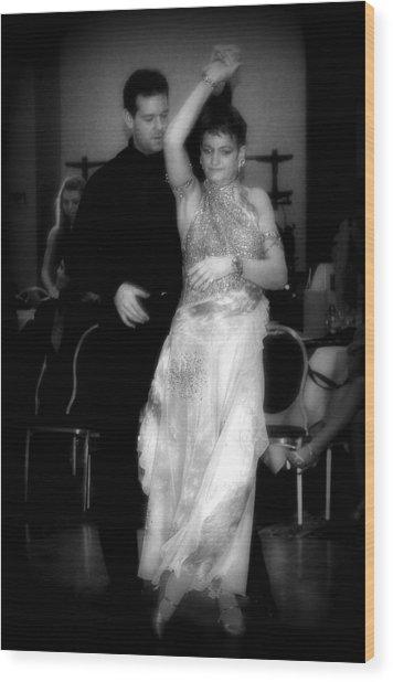 Enchanting Ballroom Wood Print by Lori Seaman