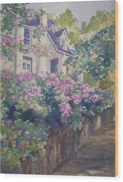 English Summer Wood Print
