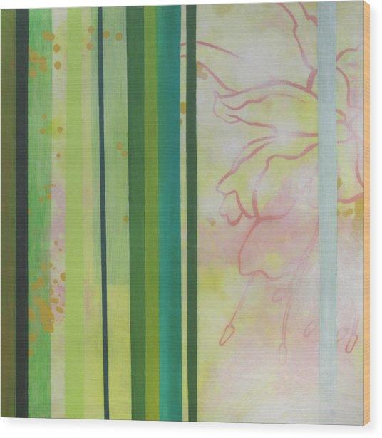 Envy Wood Print by Monica James