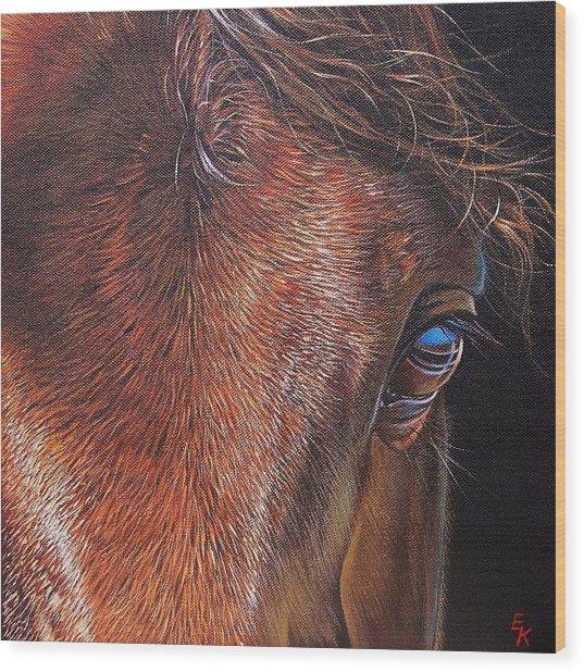 Equine 2 Wood Print