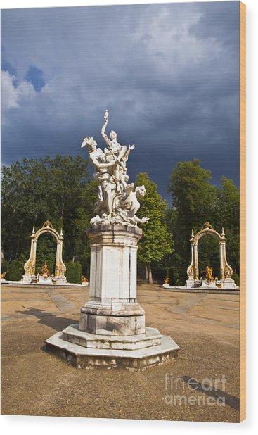 Eternal Hermes - La Granja Gardens Wood Print by Scotts Scapes