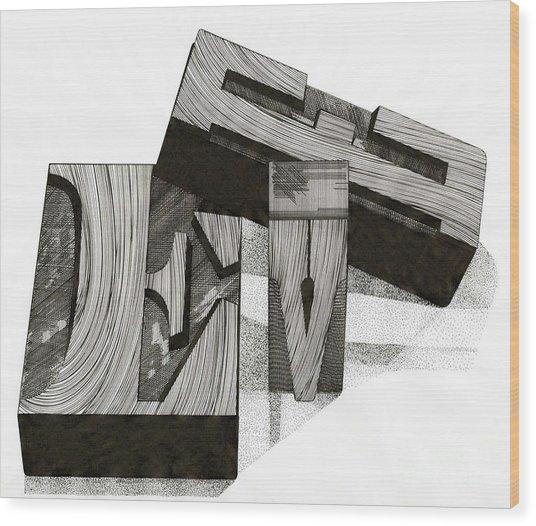Adam And... Wood Print