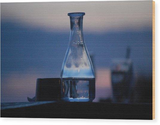 Evening Drinks II Wood Print by Dickon Thompson