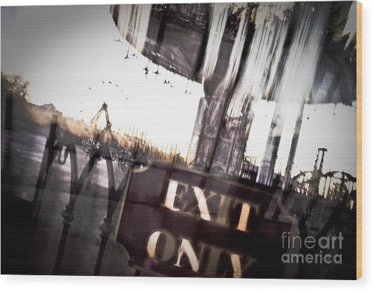 Exit Only Photograph By Pixel Perfect By Michael Moore