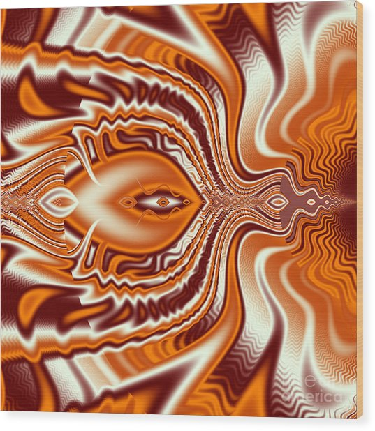 Eye Flying High Wood Print