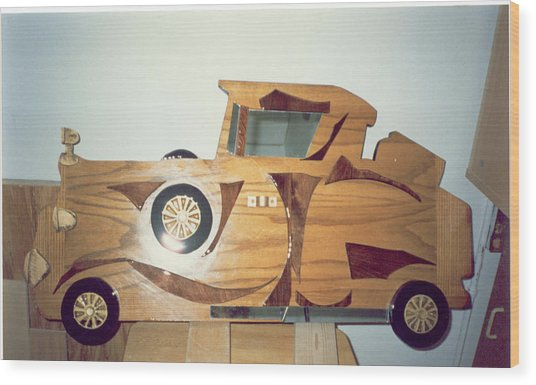 Fancy Car Wood Print