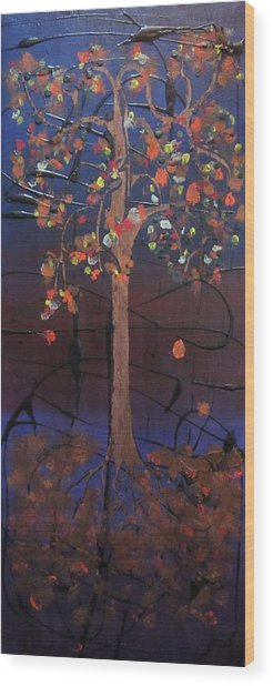 Fautumn  Wood Print by David Sutter