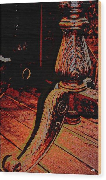 Feathered Wood Wood Print