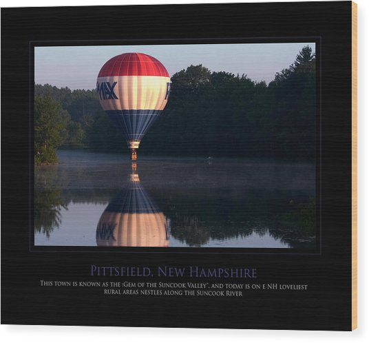 Feel Like Floating Wood Print by Jim McDonald Photography