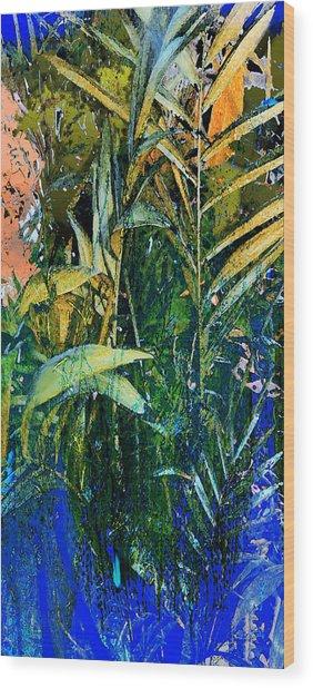 Feet In The Water Wood Print by Anne Weirich