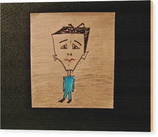 Felzap Wood Print