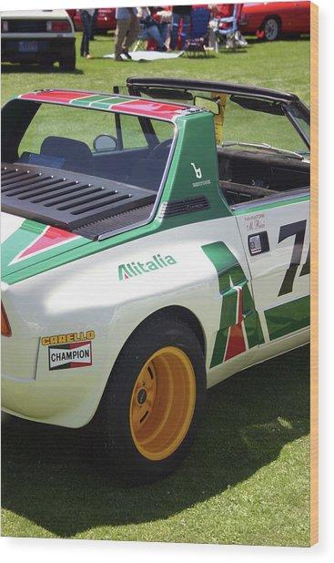 Fiat Dallara Wood Print by Fred Russell