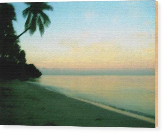 Fiji Calling Wood Print