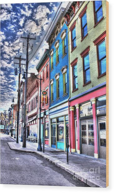 Findlay Market 1 Wood Print