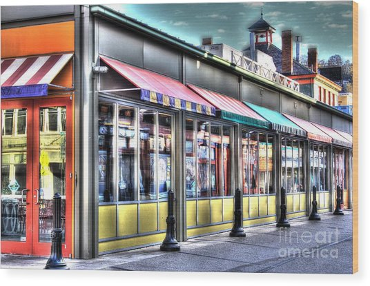 Findlay Market 2 Wood Print